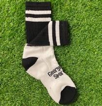 Club Sock Adult Medium Black/W