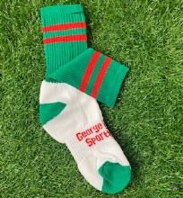 Club Sock Adult Medium Green/R