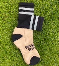 Club Sock Adult Medium Navy/sk