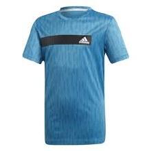 Adidas TR Cool Tee 5/6 Blue/Bl