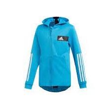 Adidas TR Hoody 7/8 Cyan/navy