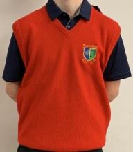 Glenmuir Vest Jumper 40 Red