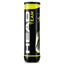 Head Team tennis balls Tube of