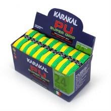 Karakal Grip Maroon/yellow