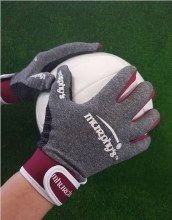 Murphys Gloves Adults M grey/m