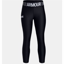 ARMOUR HG ANKLE CROP S BLACK/W