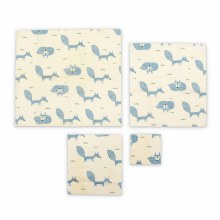 Beeswax Wraps (fox)