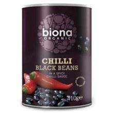 Biona Chilli Black Beans Org