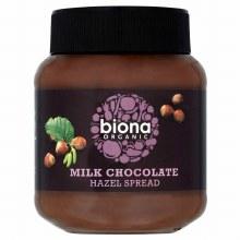 Biona Milk Choc Hazel Spread