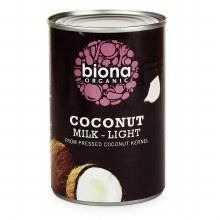 Biona Og Light Coconut Milk