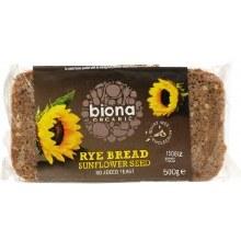 Biona Og Rye Bread Sunflower