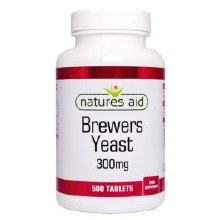 Brewers Yeast 300mg 500tabs