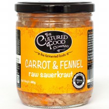 Carrot Fennel Sauerkraut Raw