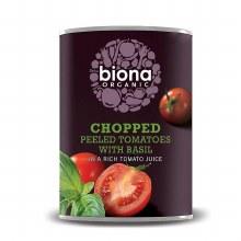 Chopped Tomatoes Organic 400g