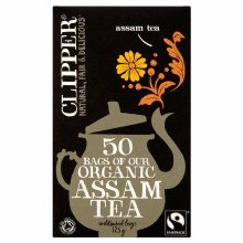 Clipper Org Assam Teabags