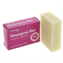 Friendly Shampoo Bar Lav/geran