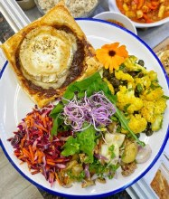 Goats Cheese Tart And Salads