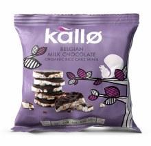 Kallo Mini Milk Choc Rice Caks