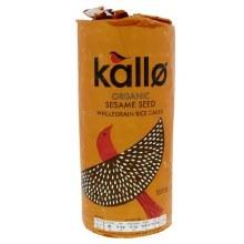 Kallo Og Thick Sesame Ricecake