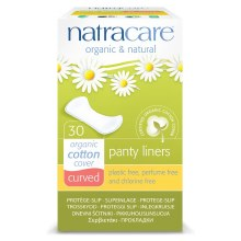 Natracare Panty Liner Curved
