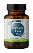 Organic Green Tea 500mg 30 Cap