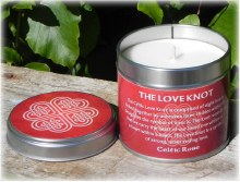 The Love Knot Candle