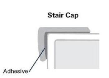 CORETEC OVERLAP LUXURY VINYL STAIR NOSE
