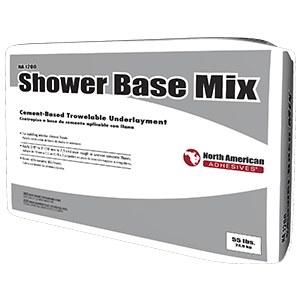 SHOWER BASE MIX - 55 LB