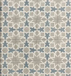 MAIOLICA GRAY/BLUE PORCELAIN