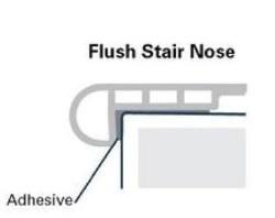 CORETEC FLUSH LUXURY VINYL STAIR NOSE