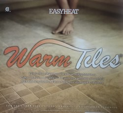 WARM TILE - CABLE - 120V - 19-22 SF