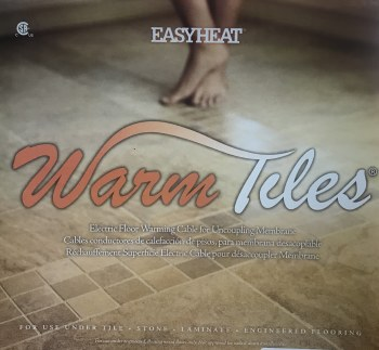 WARM TILE - CABLE - 120V - 11-13 SF