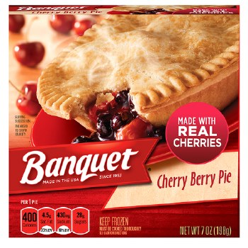 Fruit Pies - Banquet Cherry Berry 7 oz