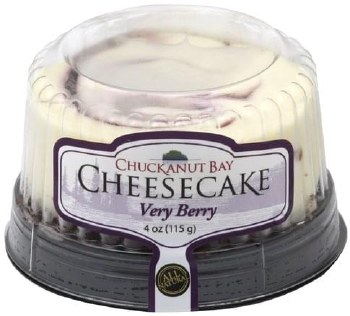Cheesecake - Chuckanut Bay Very Berry 4 oz