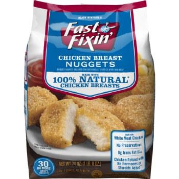 Chicken - Faxt Fixin' Chicken Breast Nuggets 24 oz
