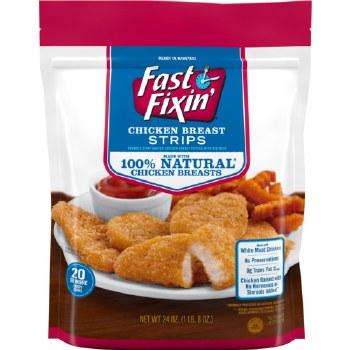 Chicken - Fast Fixin' Chicken Breast Strips 24 oz
