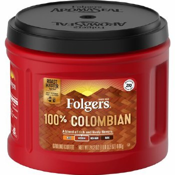 Coffee - Folger's Colombian Ground 24.2 oz