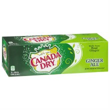 Canada Dry Ginger Ale 12 oz 12 Pack