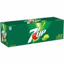 7 Up 12 oz 12 Pack