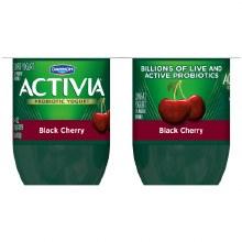 Yogurt - Activia Cherry 4 oz 4 ct