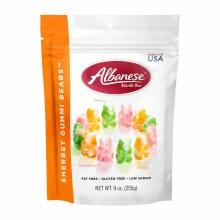 Albanese Sherbet Gummi Bears 9 oz