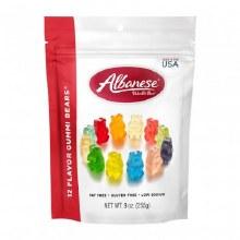 Albanese 12 flavor Gummi Bears 9 oz