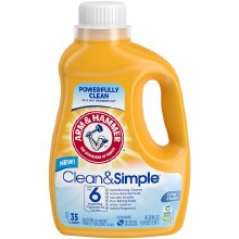 Laundry Detergent - Arm and Hammer Liquic Clean and Simple 61.25 oz
