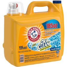 Laundry Detergent - Arm and Hammer OxiClean Fresh Scent Liquid 185.5 oz