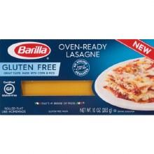 Pasta - Barilla Gluten Free Oven Ready Lasagne 10 oz