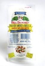 Cheese - Belgioioso Fresh Sliced Mozzarella 16 oz