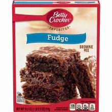 Brownie Mix - Betty Crocker Fudge 18.3 oz