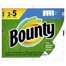 Paper Towels - Bounty Double Select A Size 2 ct