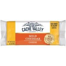 Cheese - Cache Valley Medium Cheddar Chunk 8 oz