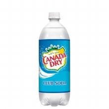Canada Dry Club Soda 1 Liter